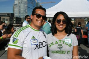 GeekWire's Summer Rooftop BBQ returns and Sounders Day Party is back September 14,