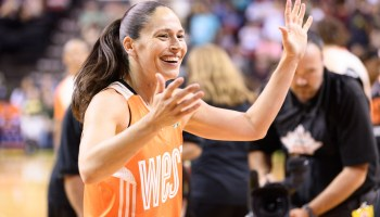 I worked out with basketball legend Sue Bird via a new Amazon Alexa skill — here's what it was like