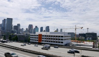 Permit filings point to another Amazon expansion in highly visible office building along I-5