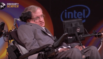 Stephen Hawking reflects on his 75-year past and Earth's uncertain future