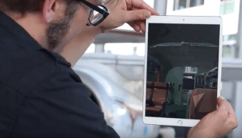 Augmented reality lets you step through Museum of Flight's portal and onto NASA's historic 737 jet