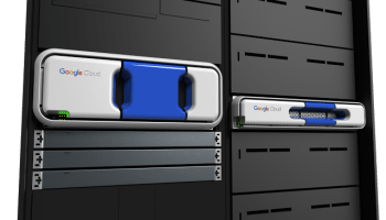 Google's Transfer Appliance, for shipping data to its cloud servers. (Google Photo)