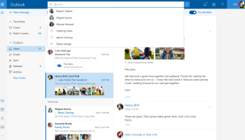 Microsoft rolls out Outlook.com beta program to test new features fueled by AI and design changes