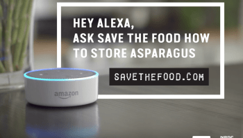 Alexa save food skill