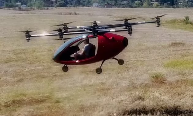 passenger drone joins the