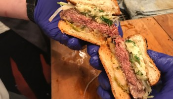 Don't call it a veggie burger: We tried the meatless yet 'meaty' Impossible Burger