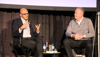 Microsoft's quantum future: Satya Nadella gives company alums a glimpse of what's coming