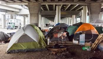Tim Durkan homeless