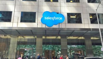 Salesforce tops estimates on revenue, earnings, names Bret Taylor chief product officer