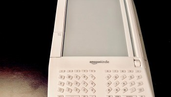 Rekindling Amazon's old flame: 10 years later, can we get the original Kindle e-reader to work again?