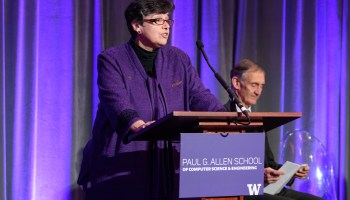 UW President Ana Mari Cauce on being a threefold 'first' and the most important lessons of college