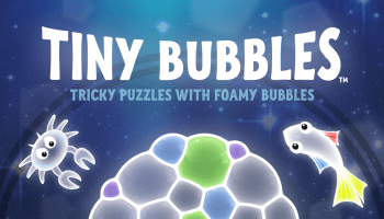 How soap bubbles inspired the unique puzzle game mechanic in Tiny Bubbles