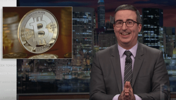 Watch John Oliver break down blockchain and bitcoin on 'Last Week Tonight'
