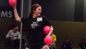 March Madness: Here's the bracket for the 2019 GeekWire Bash dodgeball tourney