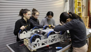 Meet the Girls of Steel: This badass robotics team at Carnegie Mellon University preps young women for STEM careers