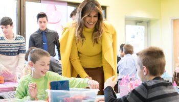 Melania Trump reportedly meeting with Google, Amazon and other tech titans on cyberbullying