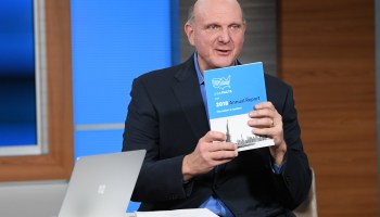 Catch up with Steve Ballmer, USAFacts founder and LA Clippers chairman, at the GeekWire Summit