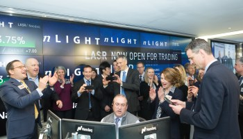 nLight shares soar 68% on first day of trading; laser-maker valued at nearly $900M