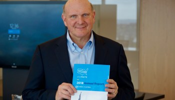 Interview: Why former Microsoft CEO Steve Ballmer is holding a 'shareholder meeting' for America
