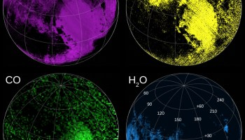 Pluto composition