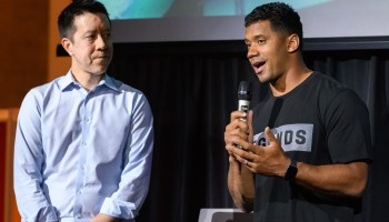 Nike acquires TraceMe, a Seattle startup founded by Russell Wilson and backed by Jeff Bezos