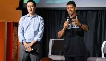 Russell Wilson's startup Tally powers new real-time predictions game for L.A. Rams, Seahawks' big rival