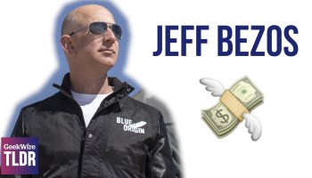 TLDR: Jeff Bezos and philanthropy, $6 lunch pickup service, 8-year-old coder