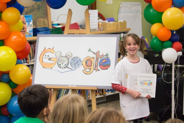 Google Picks Seattle Grader Doodle Washington