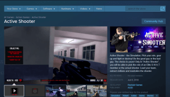 Valve removes controversial school shooting game and denounces developer as 'troll with history of customer abuse'