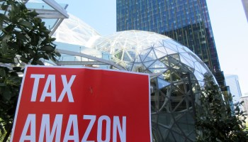 Amazon gives $200K to Seattle Chamber political action committee ahead of City Council elections