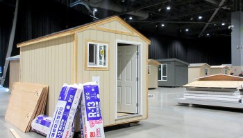 At odds with Seattle on head tax, Paul Allen's Vulcan builds tiny-house village to shelter homeless people