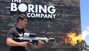 Flame on! Elon Musk says Boring Company delivers its first 'Not-a-Flamethrower'