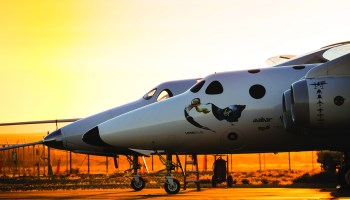 SpaceShipTwo and WhiteKnightTwo