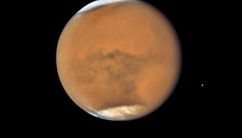 Mars near opposition