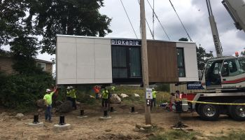Paul Allen-backed Blokable delivers first unit as part of housing project in Seattle suburb