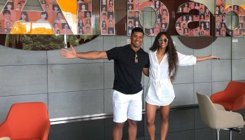 Seahawks QB Russell Wilson visits Amazon rival Alibaba, promising 'ground breaking things' with Chinese e-commerce giant