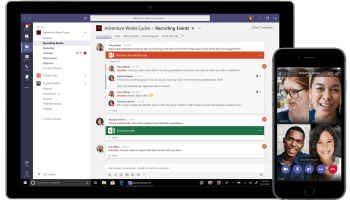 Here's how many people use Microsoft Teams every day, and how it compares to rival Slack