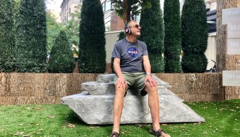 Parks and relaxation: Sounds of the busy city cancelled out by nature in downtown Seattle exhibit