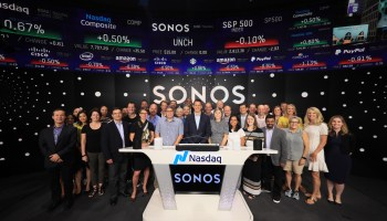 On IPO day, smart speaker maker Sonos reveals 'explosive growth' in Seattle office