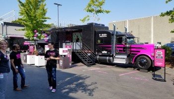 T-Mobile takes its 5G wireless pitch on a road trip with giant 'Tech Truck'