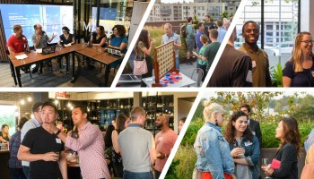 GeekWire Live: Highlights and pics from Thursday's podcast and rooftop meetup in Seattle