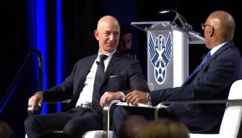 Bezos and Spencer