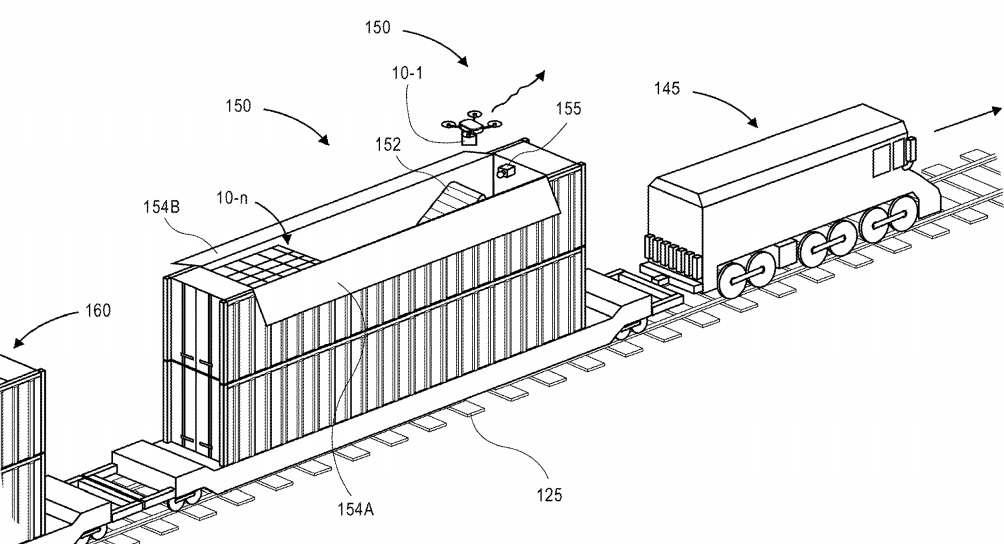 Amazon envisions fulfillment centers that can ride the