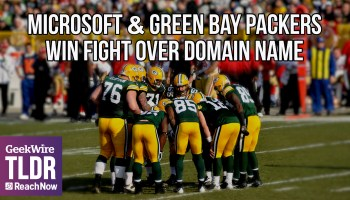 TLDR: Microsoft & Green Bay Packers win fight over domain name