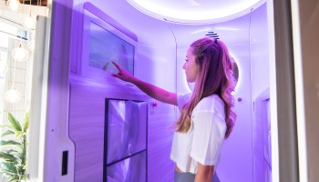 Can't get enough sun? Startup launches light therapy booths to bathe users in vitamin D