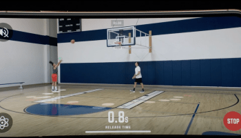 Sports tech at Apple event: New iPhone app uses augmented reality for basketball training