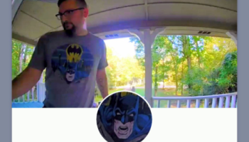 Batcave on lockdown? Man's smart doorbell locks him out of house when it thinks he's Batman