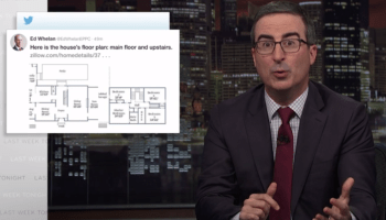 Zillow's place in scandal around Supreme Court nominee gets the attention of HBO's John Oliver