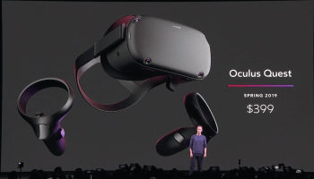Facebook unveils standalone $399 Oculus Quest virtual reality headset, shipping next spring