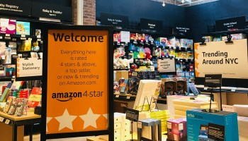 Amazon unveils new brick and mortar concept — Amazon 4-star — featuring highly rated items